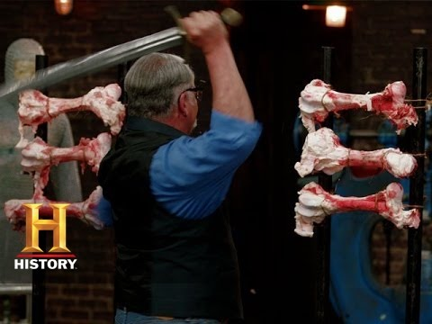 Forged in Fire: Chopping Through Bones (S1, E5) | History