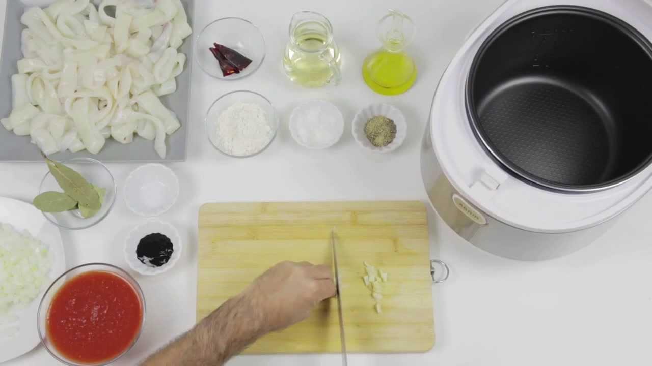 Robot de cocina chef titanium calamares en su tinta youtube - Robot de cocina chef titanium ...