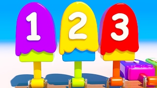 Learn Numbers With 3D Popsicle For Children