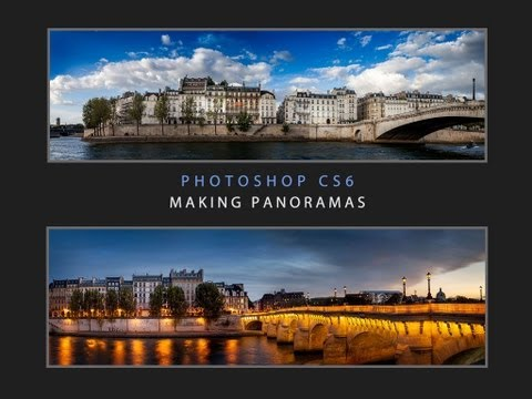 INTRODUCTION Photoshop CS 6 Shooting and making Panoramas by Serge Ramelli
