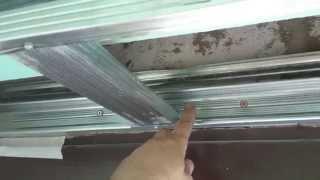 видеоуроки, секреты работы с гипсокартоном (каркас). Drywall ceiling.