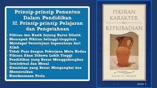 PIKIRAN, KARAKTER DAN KEPRIBADIAN: 37. Prinsip Pelajaran dan Pengetahuan bag.1 - Pdt. Benny Tambunan
