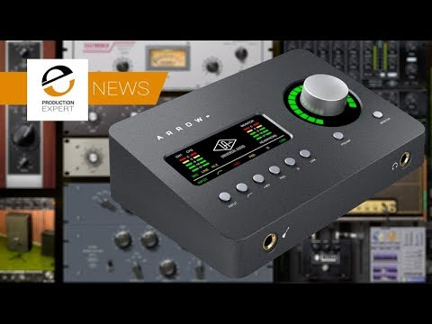 Universal Audio Announce New Arrow Thunderbolt-3 Audio Interface