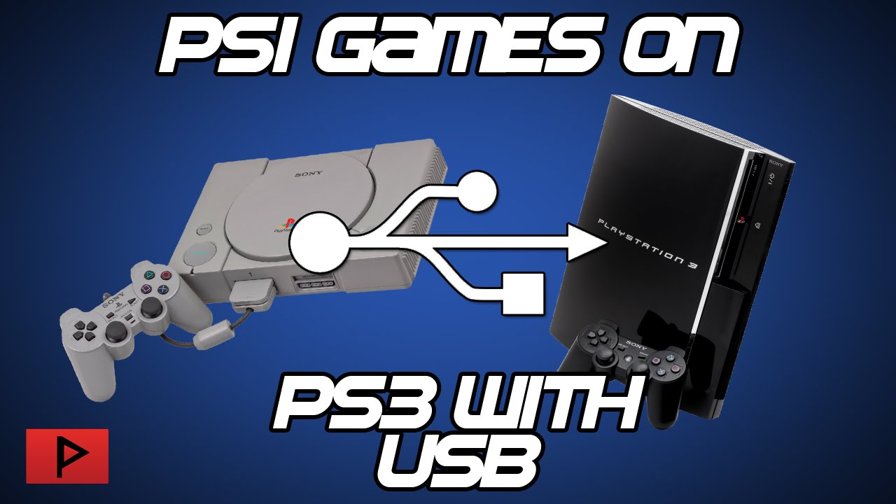 How To Play Psx Ps1 Games Off Of Usb On Cfw Ps3
