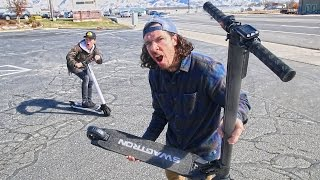 CRAZY ELECTRIC SCOOTER TRICKS!!