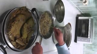 Zeytinyağlı Asma Yaprağı Sarması(3)/Olive Oil Stuffed Vine Leaves(3)