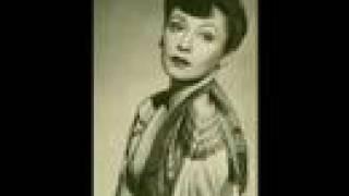 """Zarah Leander - Vilja-Lied (1931 - """"Die lustige Witwe"""")"""
