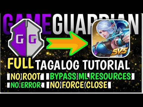 How To Install/Use Game Guardian Without Root In Mobile Legends 2019(Latest Tutorial)