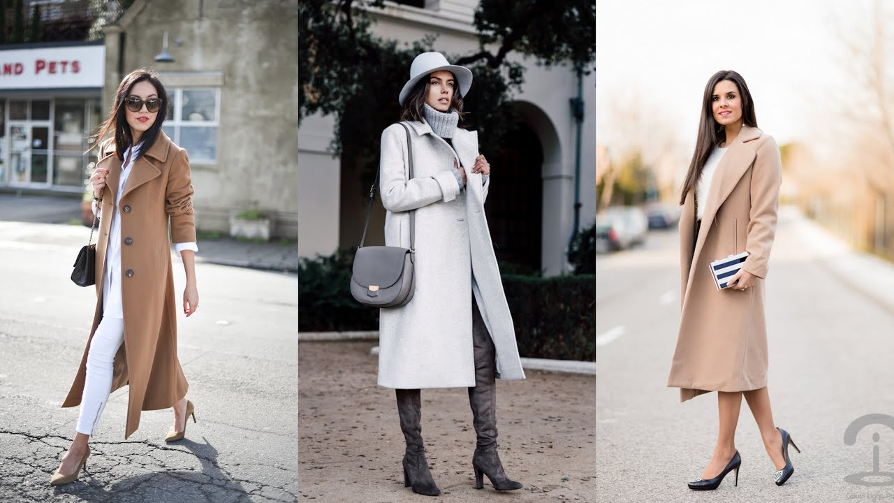 17 Outstanding Ideas of How to Wear Long Coats This Winter - YouTube