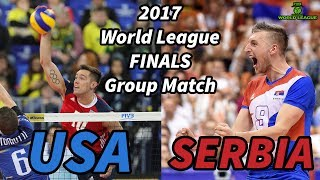 Usa Vs. Serbia - World League 2017 Finals - All Breaks Removed