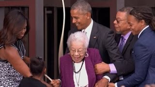Obamas Officially Open New Black History Museum