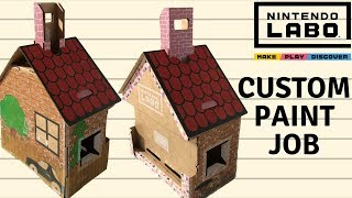 Nintendo LABO - HOUSE Custom Paint Job