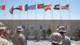 Minuto de silencio en Irak