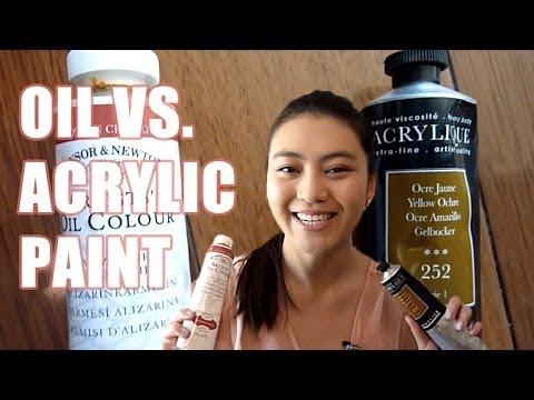 Acrylic vs. Oil Paint   LittleArtTalks