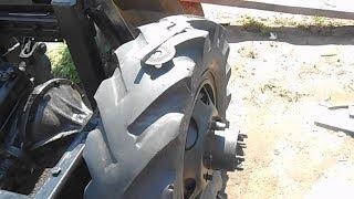 Самодельный трактор на заказ