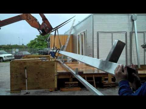 FLeX House Construction in Florida's Rainy Season