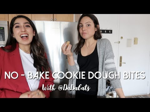 No-Bake Cookie Dough Bites with @DaDaEats