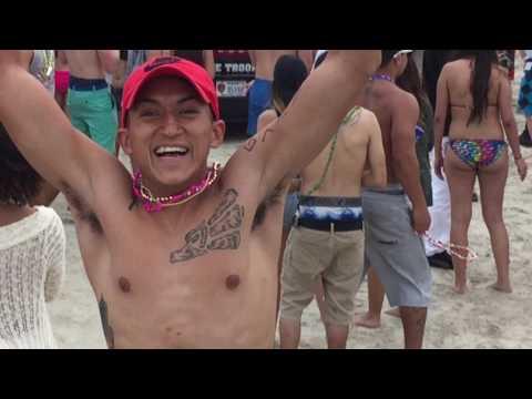 Taste of chaos in Port Aransas. Spring Break 2017
