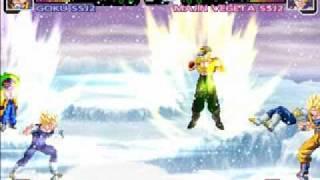 Dragonball Z M.U.G.E.N 2011 PC Gameplay- Goku vs Vegeta + Download Link