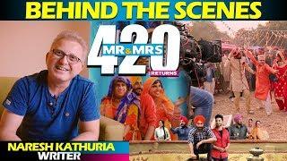 Behind the scenes | Mr & Mrs 420 Returns | Naresh Kathuria | Ranjit Bawa Jassie Gill | Making