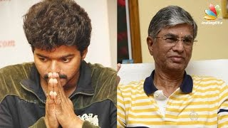Vijays father SA Chandrasekhar met with an accident in Kerala | Hot Cinema News