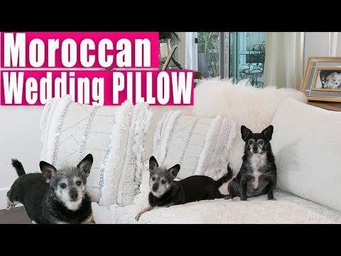 Diy Moroccan Wedding Pillow Easy No Sewing