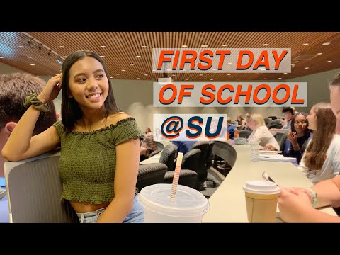 FIRST DAY OF SCHOOL   Syracuse University