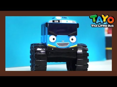 Monster Truck Part 1&2 Compilation l Tayo's Toy Adventure #21 l Tayo the Little Bus
