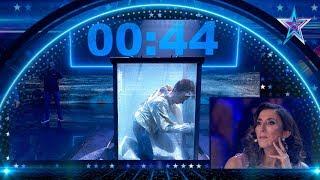 Este ESCAPISTA, entre la VIDA y la MUERTE bajo el AGUA | Semifinal 4 | Got Talent España 5 (2019)