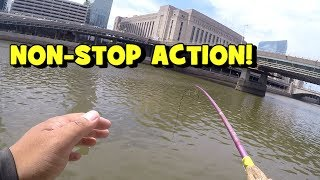BITE AFTER BITE!!! NON-STOP ACTION on the River!