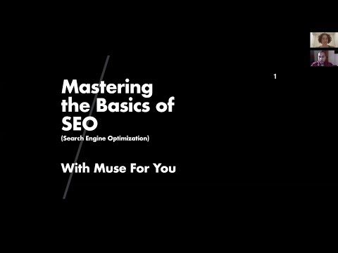 Muse Jam: Search Engine Optimization and Adobe Muse