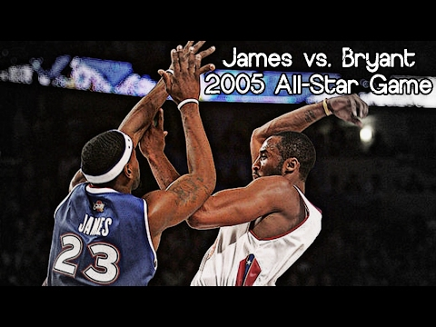LeBron James vs. Kobe Bryant (2005 NBA All-Star Game) - FIRST ASG Duel, MUST Watch!