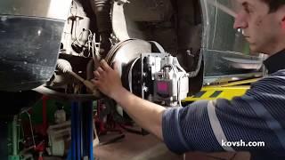 Диагностика дребезга ходовой виброгенератором на Land Rover Range Rover Sport II 3.0d