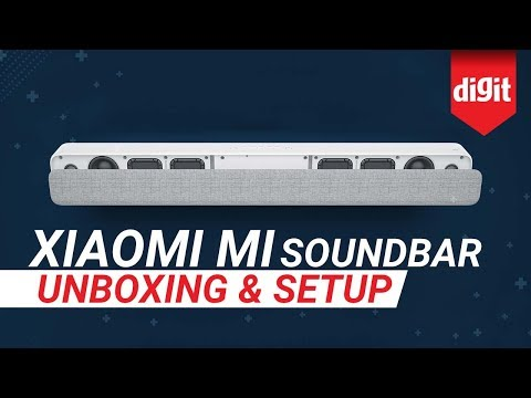 Xiaomi Mi Soundbar Unboxing & How To Setup With Your TV | Digit.in