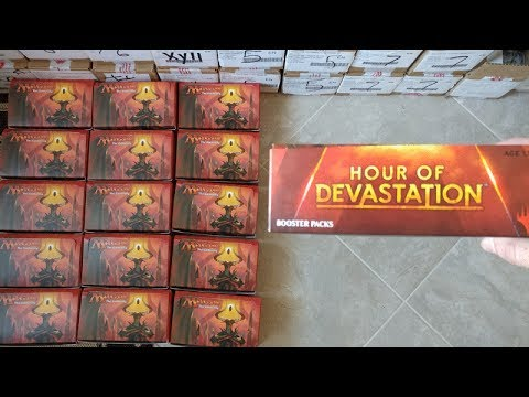 Hour of Devastation Box Opening = Is this the next Dragons Maze SET !?!?!