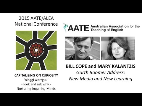 2015 Garth Boomer Address by Mary Kalantzis and Bill Cope