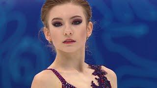 Дарья Усачева Короткая программа Женщины Финал Кубка России по фигурному катанию 2020 21