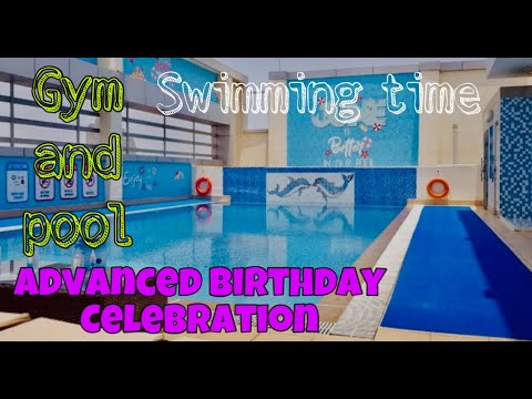 Gym and Pool Abu Dhabi | edzTV | Eddielyn Calucin Vlog