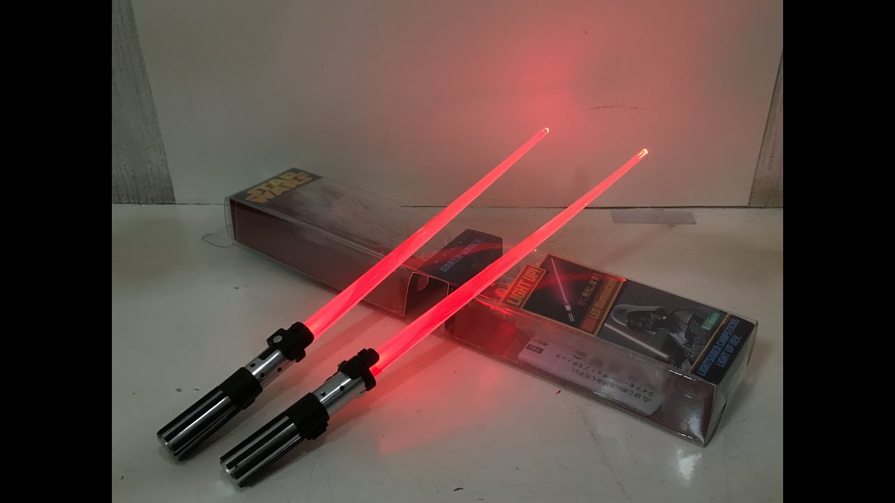 STAR WARS EPISODE 7 KOTOBUKIYA KYLO REN LIGHTSABER Chopsticks BRAND NEW!