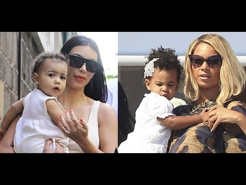 Blue Ivy Vs North West 2014