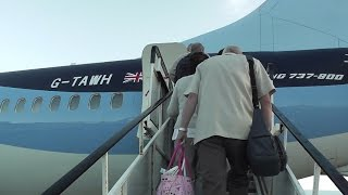MY DEPARTURE TO PALMA MALLORCA FROM DONCASTER AIRPORT (UK)