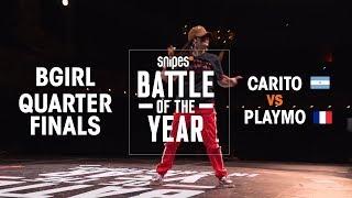 Carito (ARG) vs Playmo (FRA) | BOTY 2018 1V1 BGIRL QUARTERFINALS
