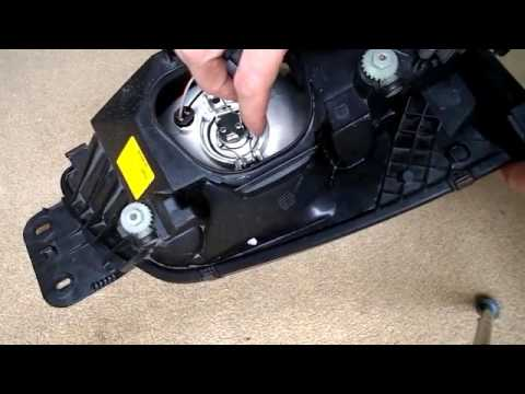 ford fiesta mk7 headlight wiring diagram s plan heating and sidelight bulb change youtube