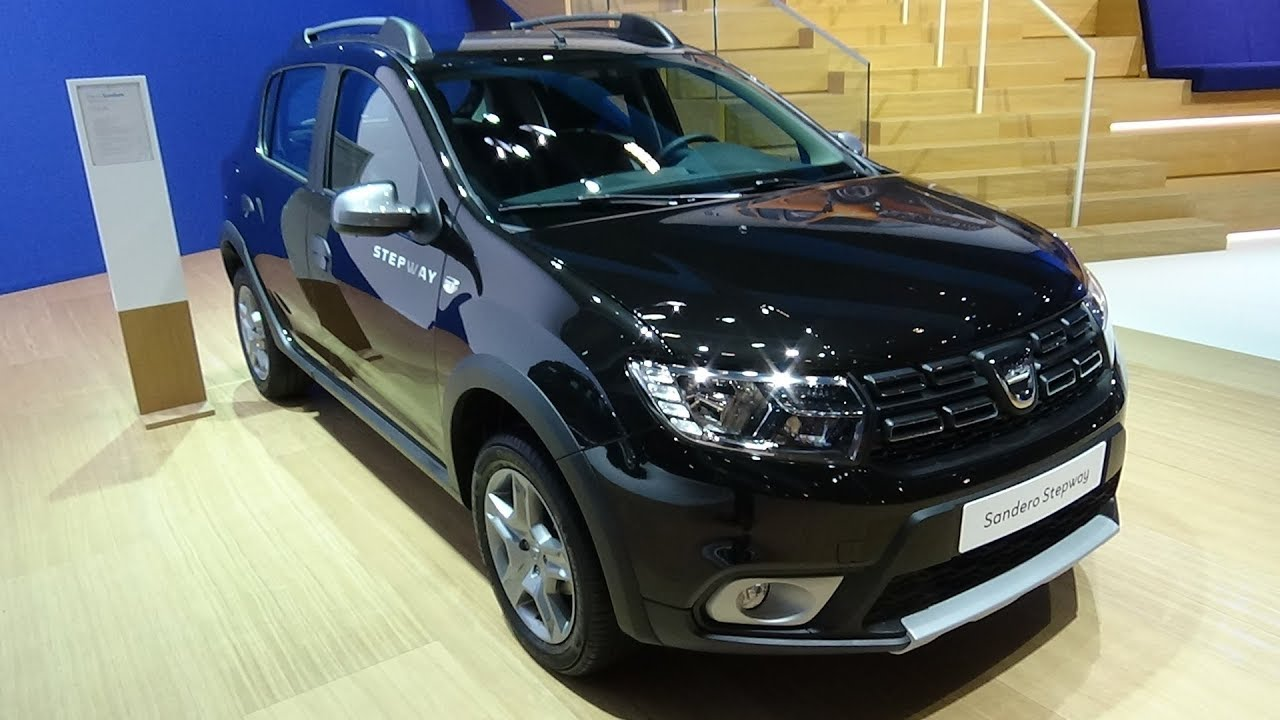 2018 dacia sandero stepway plus tce 90 exterior and for Dacia sandero interior