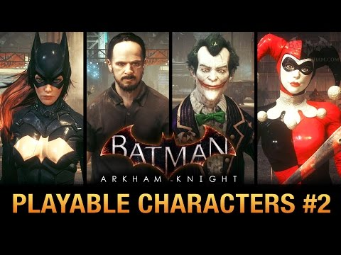 Batman: Arkham Knight PC Mod - Play as Batgirl, Sefton Hill, Classic Harley and More