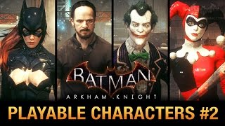 batman arkham knight pc mod play as batgirl sefton hill classic harley and more