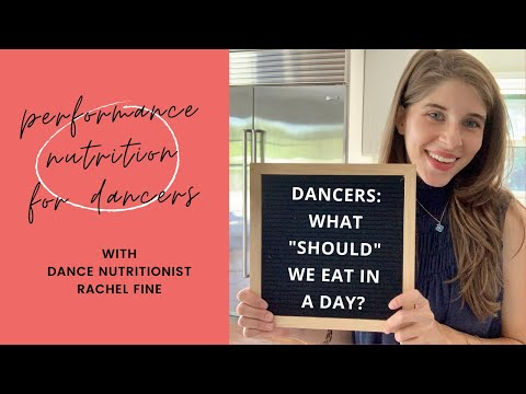 Dancers | What Should I Eat In A Day?