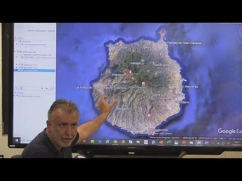 Logran contener el incendio que afecta a la cumbre de Gran Canaria