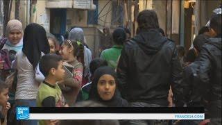 اللاجئون الفلسطينيون الفارون من سوريا يعانون ظروفا معيشية صعبة في لبنان