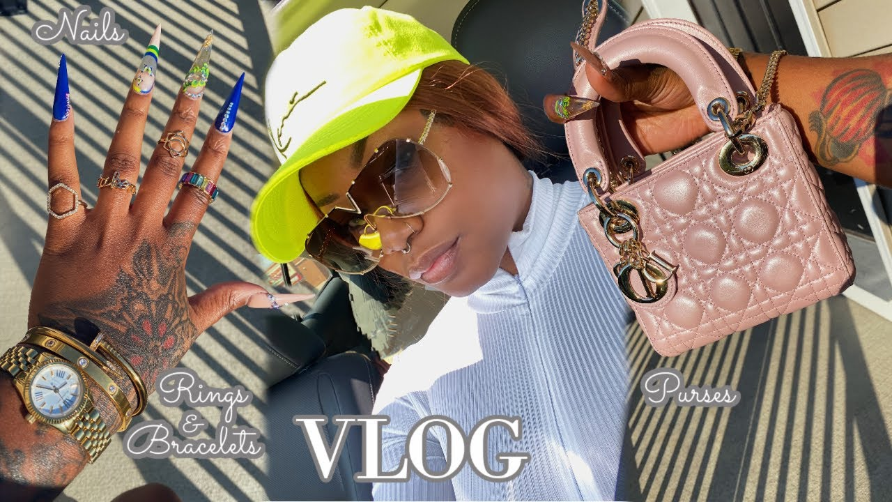 Weekly Vlog | New Nail Tech 👀, Accessories & Luxury Bag Shopping *With Links* | Laurasia Andrea